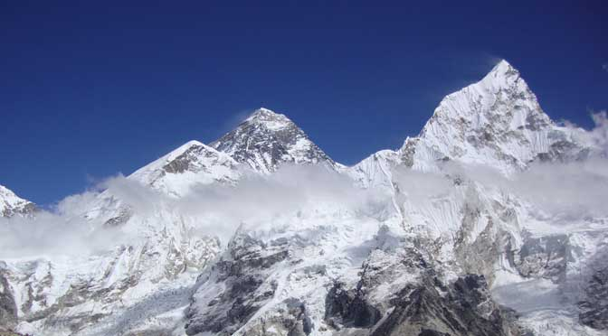 World Highest Peak Mount Everest Located In Nepal on Where Is Kathmandu Nepal Located On The Map